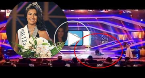 سقوط ملكة جمال لبنان السابقة كارين غراوي على المسرح