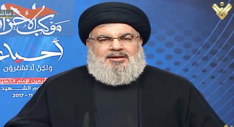 نصر الله: السعودية أعلنت الحرب على لبنان وطلبت من إسرائيل ضربه