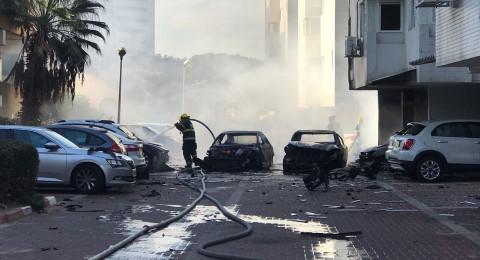 اشدود: انفجار سيارة واصابة شخصين، والخلفية جنائية