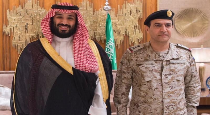 بعد حملة الاعتقالات، محمد بن سلمان يقلد قائد القوات البحرية رتبته الجديدة