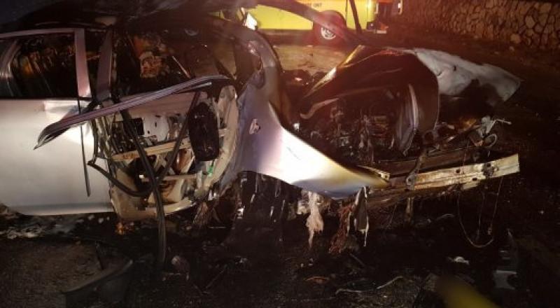 كرمئيل: حادث طرق يسفر عن اصابة 5 شبان بجراح خطرة