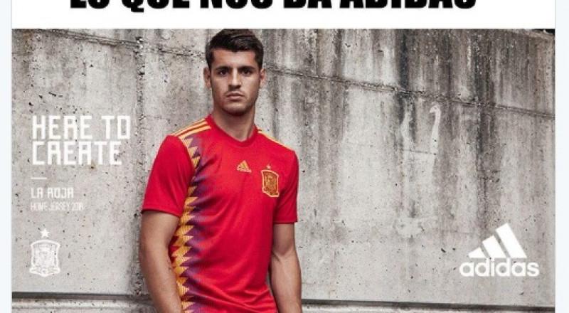 الكشف عن قميص المنتخب الإسباني في مونديال روسيا 2018
