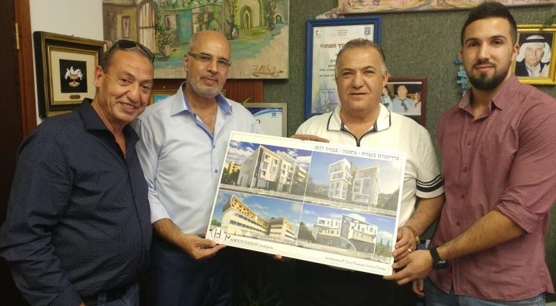 المهندس النصراوي مأمون حسن يقدم شكره لرئيس بلدية الناصرة