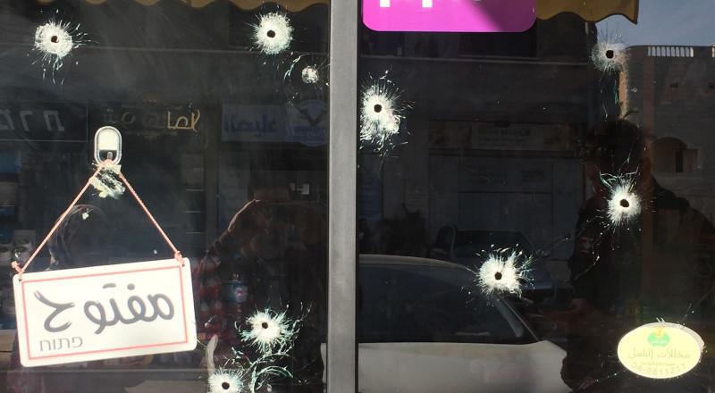 إطلاق نار على محل تجاري بمدينة طمرة دون تسجيل اصابات