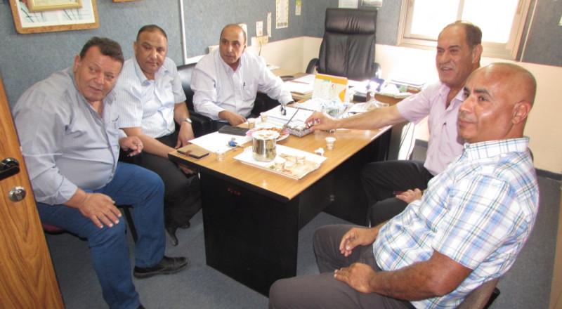 توزيع شهادات الفصل الأول بالمدرسة الإعدادية الحديقة (أ) يافة الناصرة