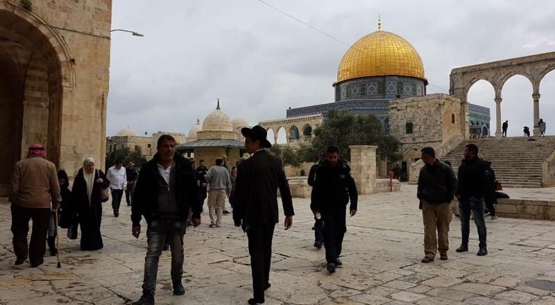 مستوطنون يستأنفون اقتحاماتهم الاستفزازية للمسجد الأقصى