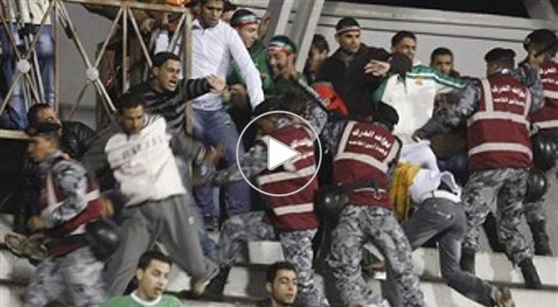 إصابة 275 أردنيا في اشتباكات عنصرية بين مشجعين من أصل فلسطيني وأردنيين