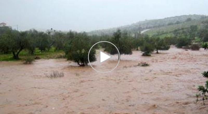 فيضانات في جنين