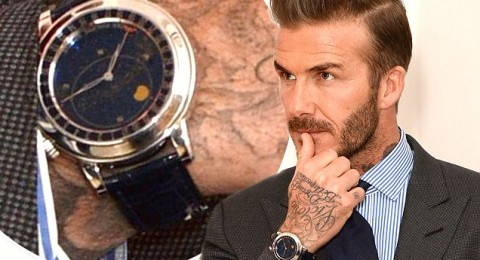 ساعة يد بيكهام أكثر من ربع مليون دولار!