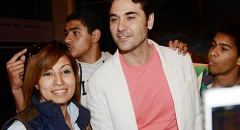 أول ظهور لأحمد عز بعد أزمتة مع زينة