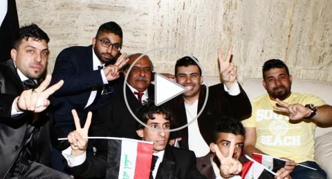 استقبال جماهيري لستّار سعد في بغداد