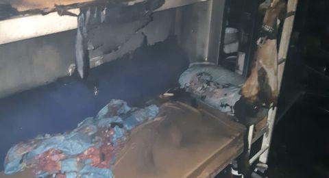 حريق في منزل بأبو سنان يسفر عن إصابة مواطنين