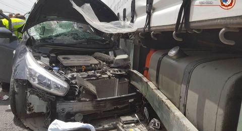 حادث طرق مروع في حيفا