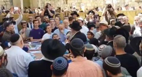 حاخامات إسرائيل يصلّون ضد إيران