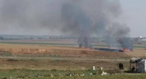 غزة: اصابتان برصاص  إسرائيلي ومحاولات إزالة السياج مستمرة