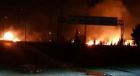 دوي انفجارات في محيط دمشق وأنباء عن قصف إسرائيلي