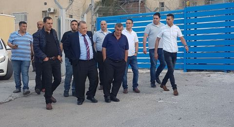 بلدية الناصرة: علي سلام عاد سالمًا غانمًا ولو كره المغرضون
