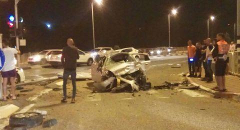 5 إصابات بينها خطيرة بحادث مروع قرب طرعان