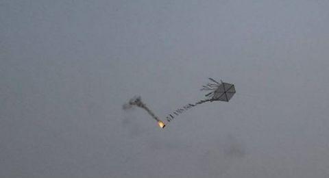 غزة: إصابات قرب الحدود وحرائق نتيجة الطائرات الورقية