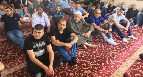 أجواء إيمانية بجامع عمر المختار يافة الناصرة عشية قرب رمضان