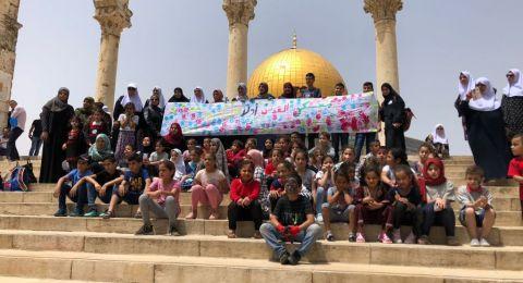 معسكر القدس أولا التاسع يحقق نجاحا غير مسبوق