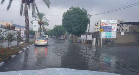 حالة الطقس: اليوم أمطار غزيرة وتحذيرات من فياضانات!