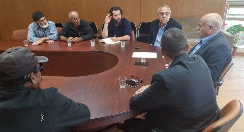 النائب الزبارقة يجتمع بأعضاء منظمة الصيادين القطرية