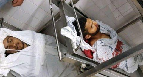 استشهاد مواطنين برصاص الاحتلال شرق خانيونس واعتقال ثالث مصاب