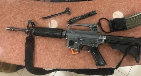 المغار: اعتقال جندي (19 عاما) استخدم بندقيته (إم 16)