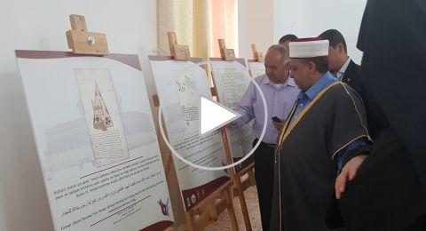 وزير الأوقاف يفتتح معرض الوثائق
