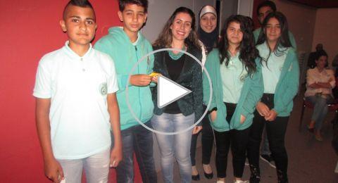 طلاب الإعدادية الحديقة (أ) يافة الناصرة يتألقون بيوم القمة