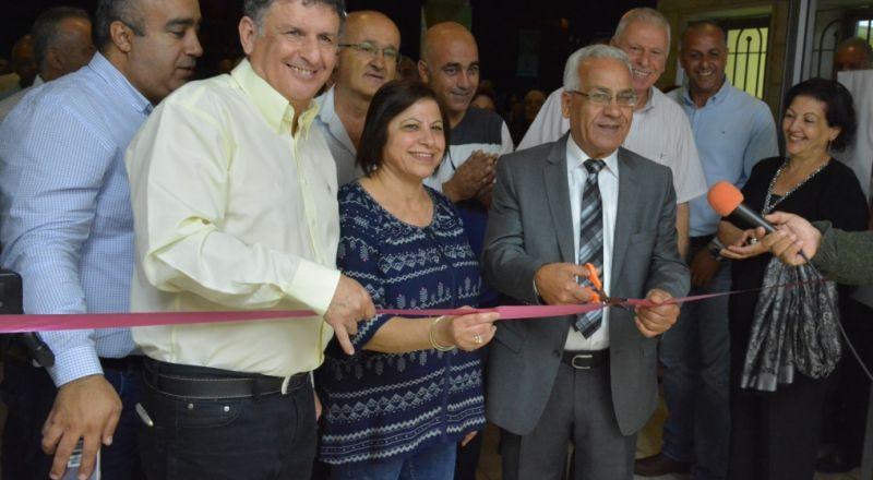 بلدية شفاعمرو تفتتح رسميًا شبكة المراكز الجماهيرية في شفاعمرو