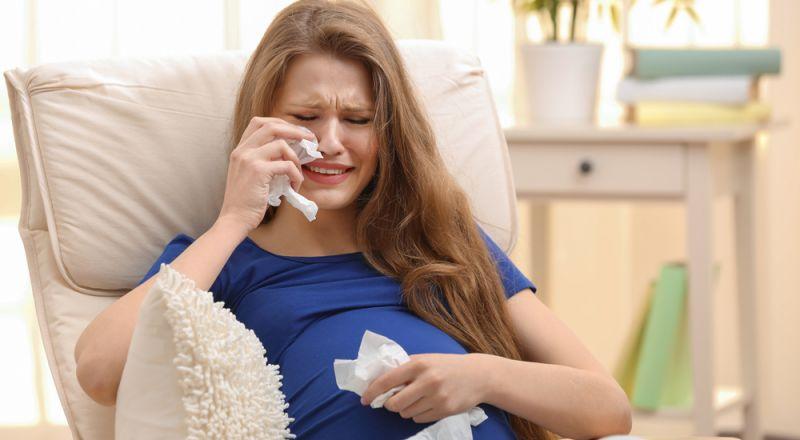 أمور غريبة تُبكي المرأة الحامل