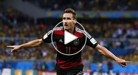 الماكنات الألمانية تدمر حلم البرازيل وتتأهل للنهائي