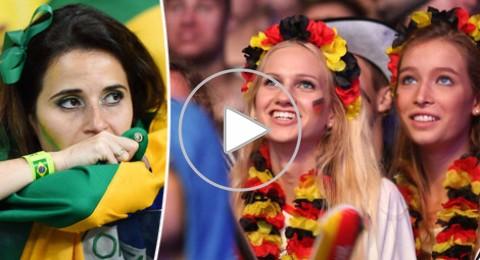 فرحة ألمانية ودموع برازيلية بعد الكارثة السباعية