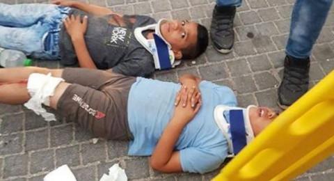 القدس: أهالي سلوان يطالبون الشرطة الاسرائيلية بالتحقيق بدهس مستوطن لأبنائهم