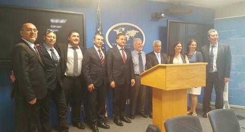 نعيم شبلي يشارك في بعثة هامة في بالولايات المتحدة مع الحكم المحلي والقنصل الإسرائيلي هناك