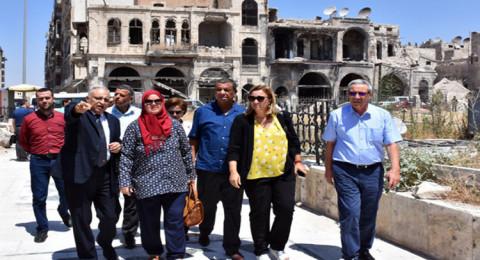 وفد برلماني تونسي يؤكد من حلب تضامنه مع سوريا
