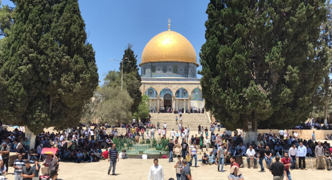 خطيب الاقصى: القدس مفتاح الحرب والسلام