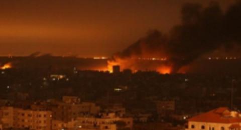 إسرائيل تقصف مواقعًا في شمال قطاع غزة