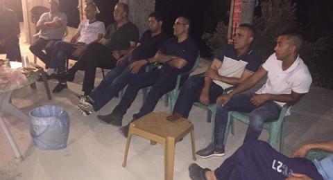 اجتماع بوادي عارة للتصدّي لاوامر الهدم ولمساندة المعتقلين الإداريين