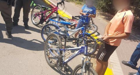 الجنوب: الشرطة تلقي القبض على مشتبه سراق دراجات هوائية