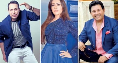هاني شاكر ولطيفة وحكيم نجوم يحاولون إنقاذ الأغنية الشعبيّة