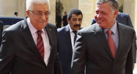 العاهل الأردني يصل رام الله