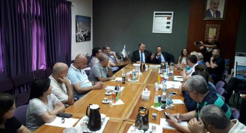 جبهة الناصرة: آن الأوان لوضع حد لممارسات علي سلام التي تمس بمكانة الناصرة الوطنية