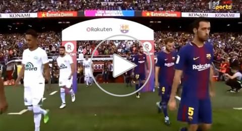 برشلونة ينذر ريال مدريد بخماسية في شابيكوينسي