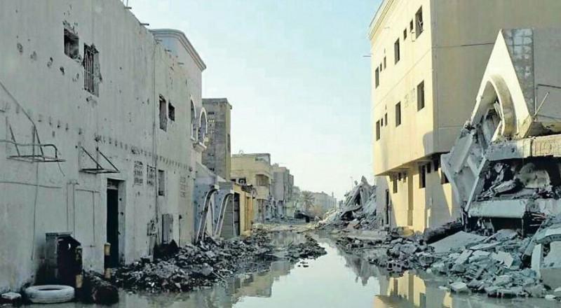 هذه الصور ليست من سورية، إنما من السعودية .. هذا ما فعلته القوات السعودية في العوامية