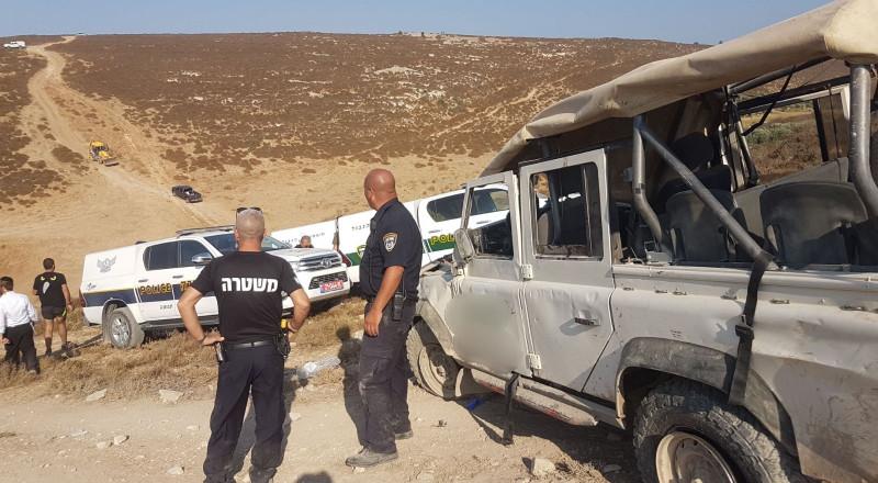 7 إصابات بحادث طرق مروع قرب الجش