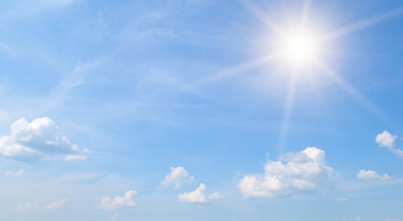 الاحوال الجوية: درجات الحرارة أعلى من معدلها السنوي