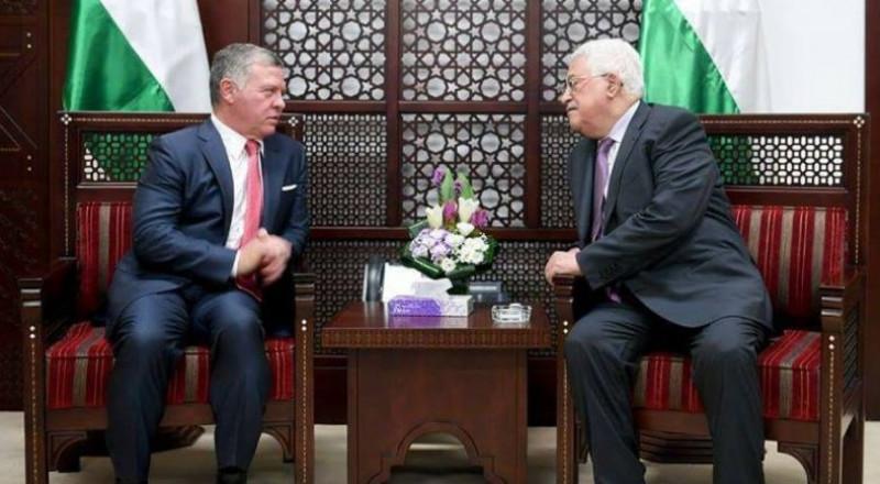 الملك عبد الله وعباس يتفقان على لجنة فلسطينية أردنية بشأن الوضع في الأقصى